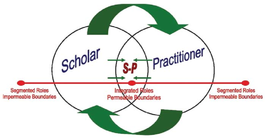 development of the scholar practitioner article analysis The term practitioner-scholar best describes the primary educational model at the liu post clinical psychology doctoral program the professional practice of psychology is the primary focus of the training program.