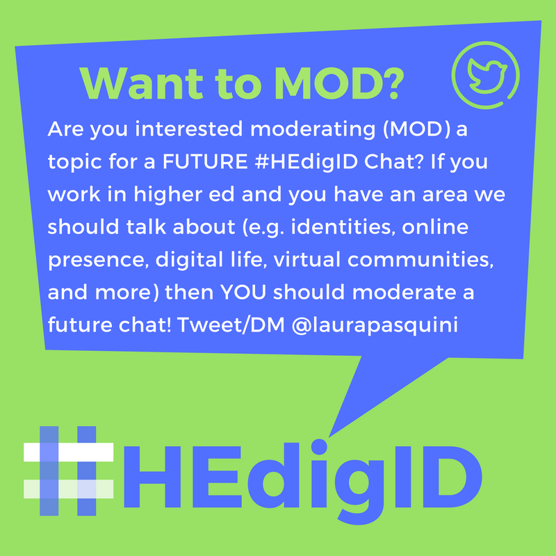 #HEdigID Chat MOD INVITE
