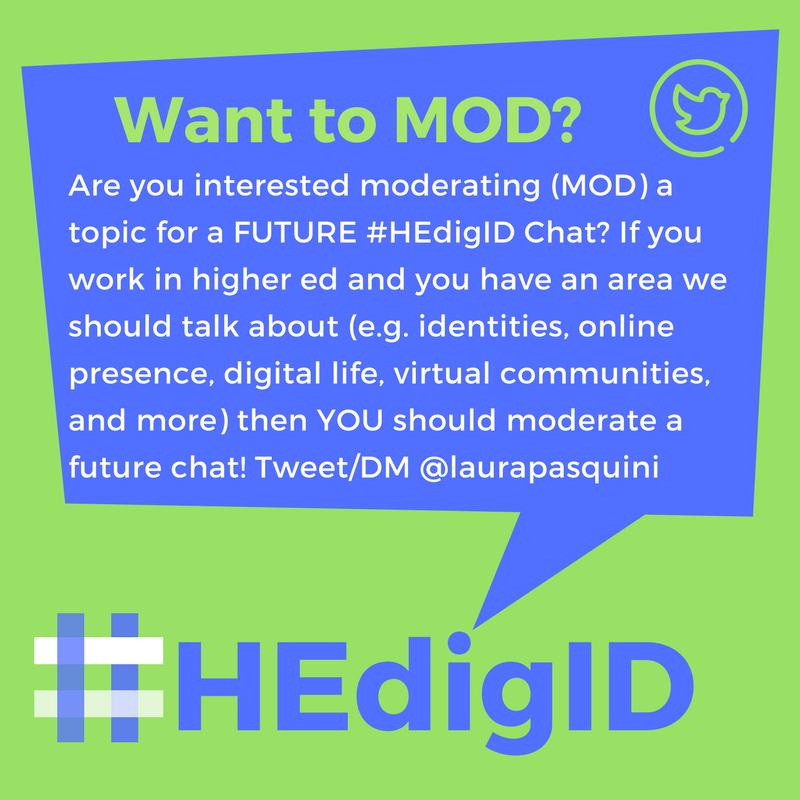 #HEdigID Chat MOD INVITE